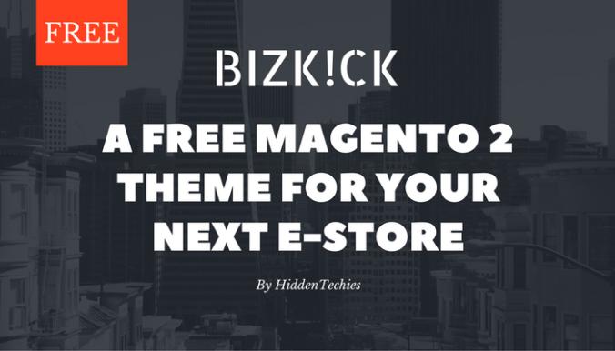 BizKick Free Magento 2 Theme