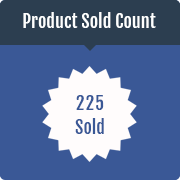 Product Sold Count Prestashop Module