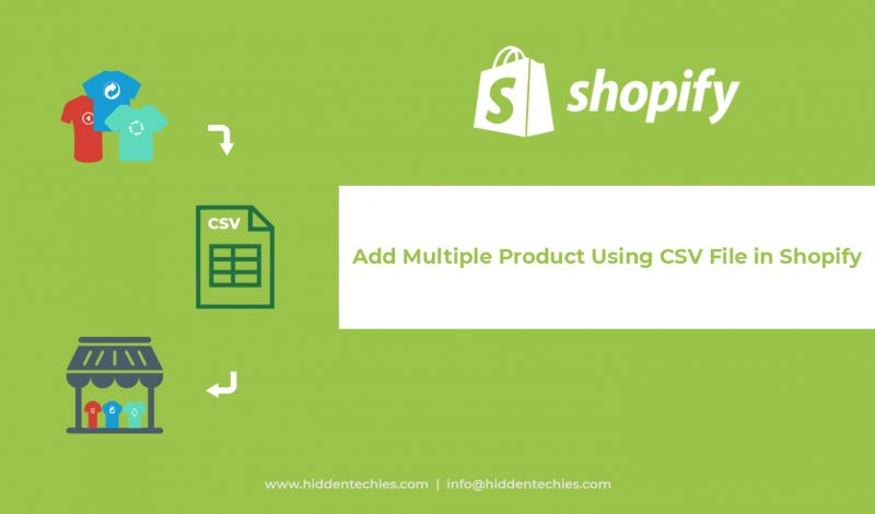 Shopify CSV banner