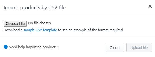Shopify CSv File