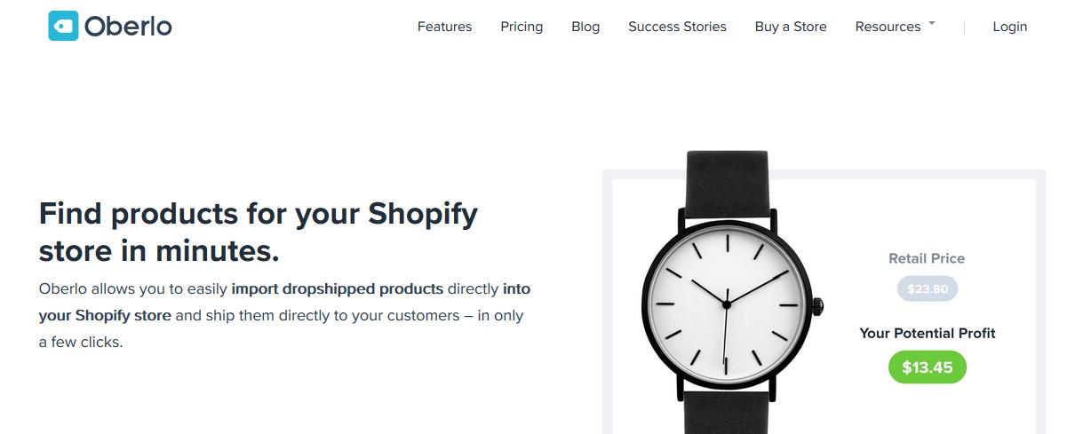 Shopify Oberlo