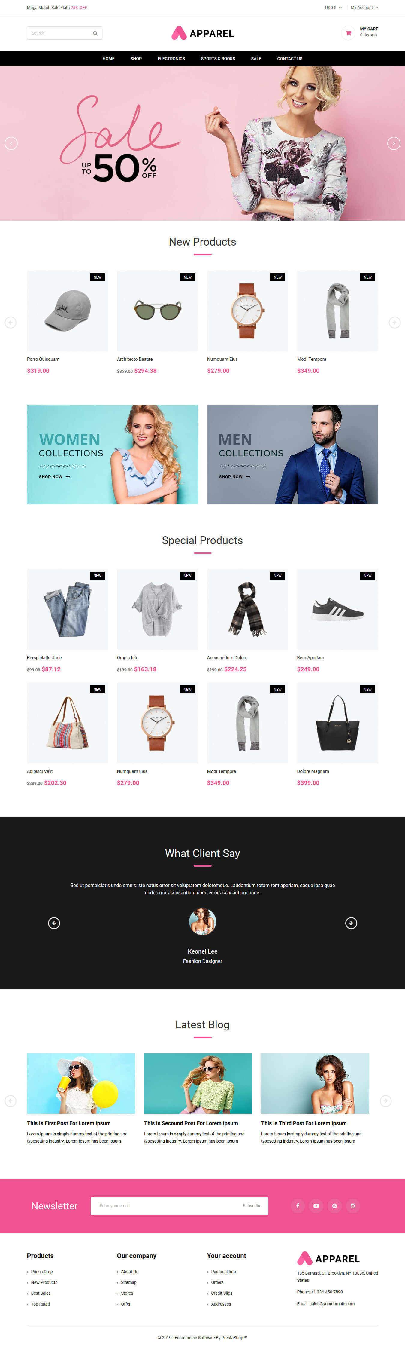 apparel-prestashop-free-theme