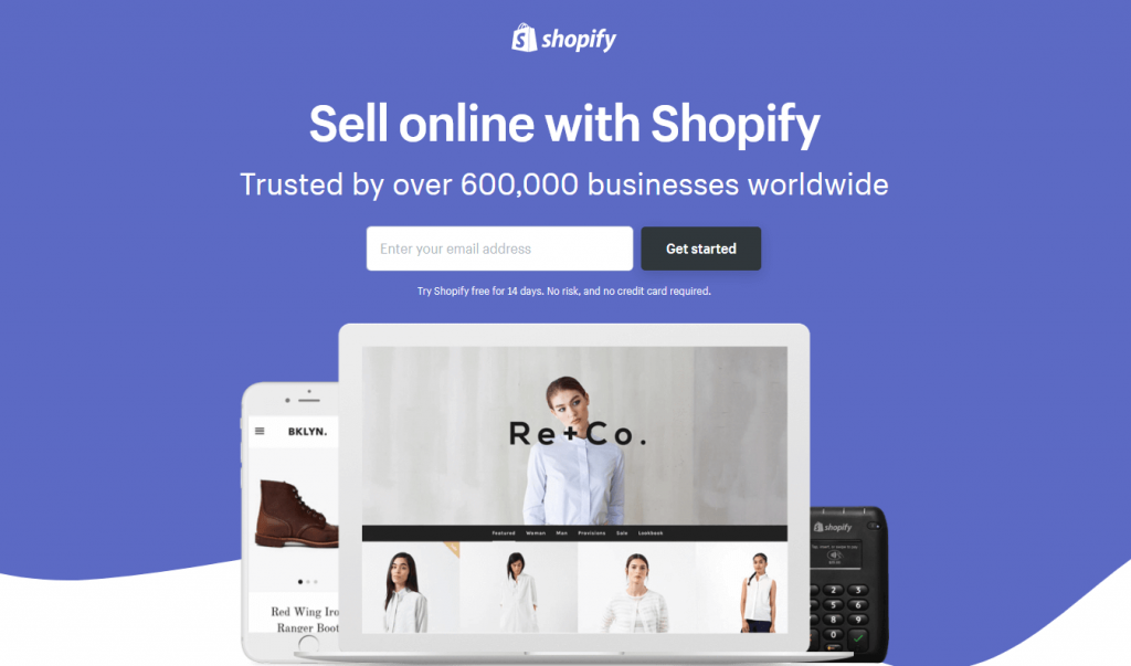 Sell Online with Shpopify