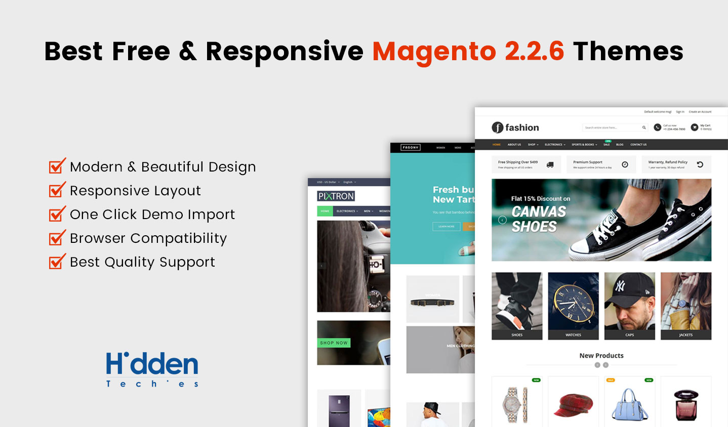 Best Free Responsive Magento 226 Themes Hiddentechies