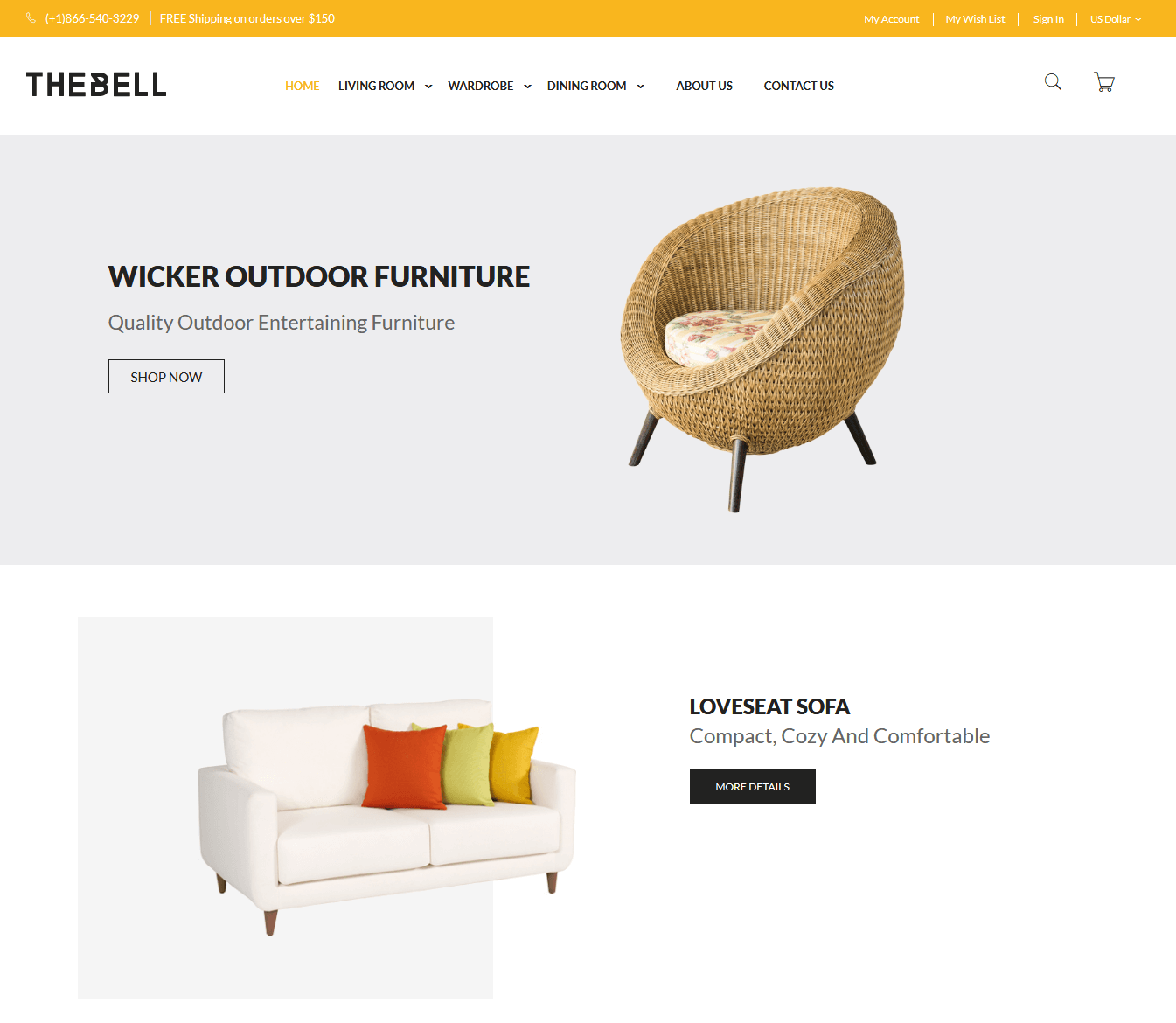 Thebell Magento Theme