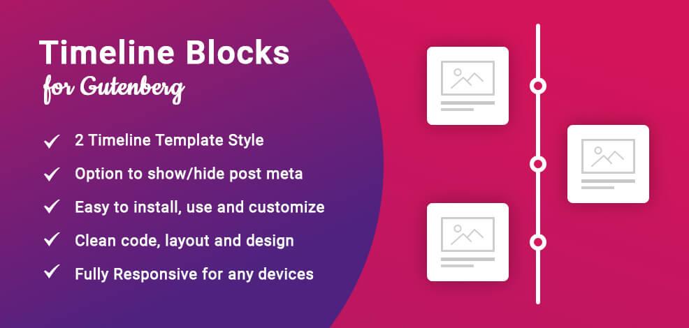 Timeline Blocks for Gutenberg