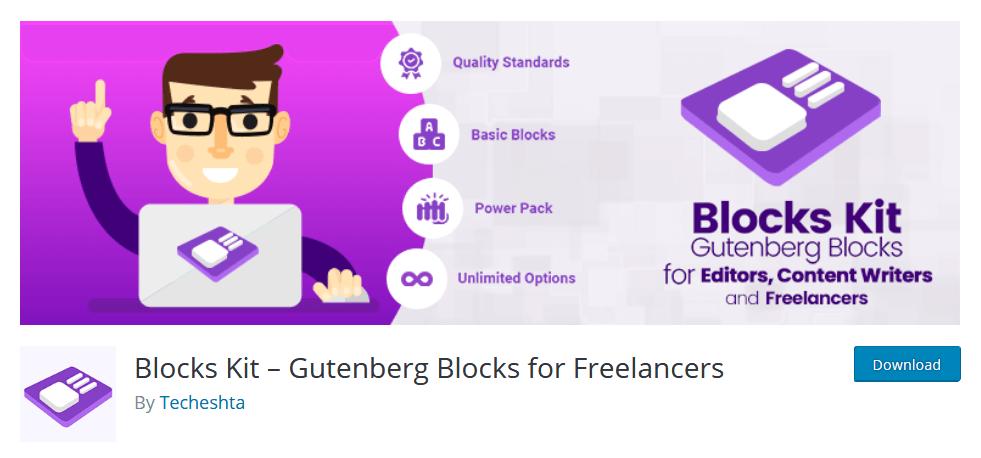 Blocks Kit Gutenberg Plugin