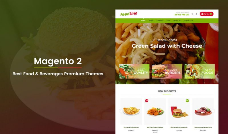 Food & Beverage Premium Magento 2 Themes