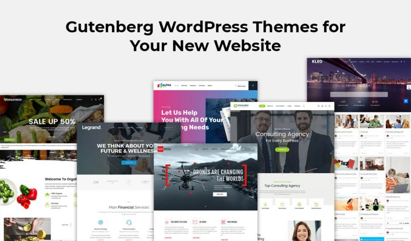 Gutenberg WordPress Themes