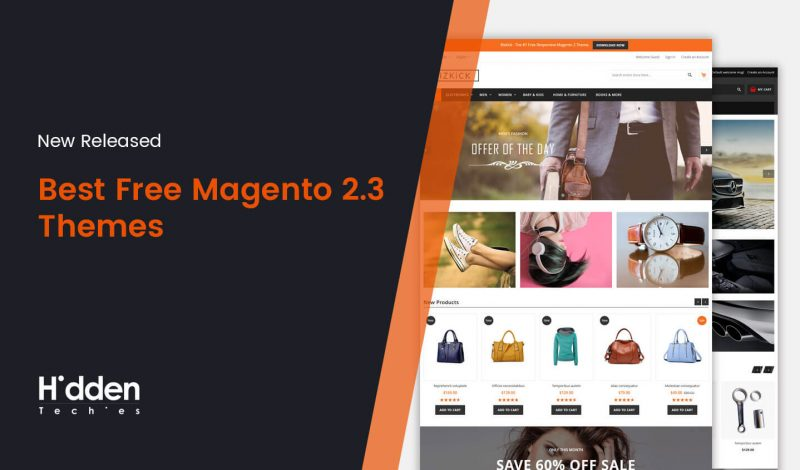 Best Free Magento 2.3 Themes for 2019