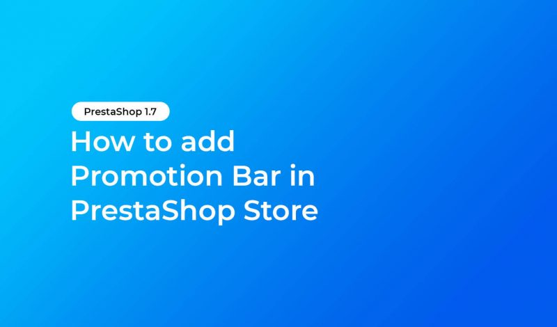 add-promotion-bar-prestashop