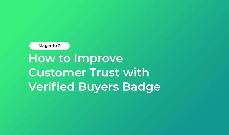 Verified Buyers Badge