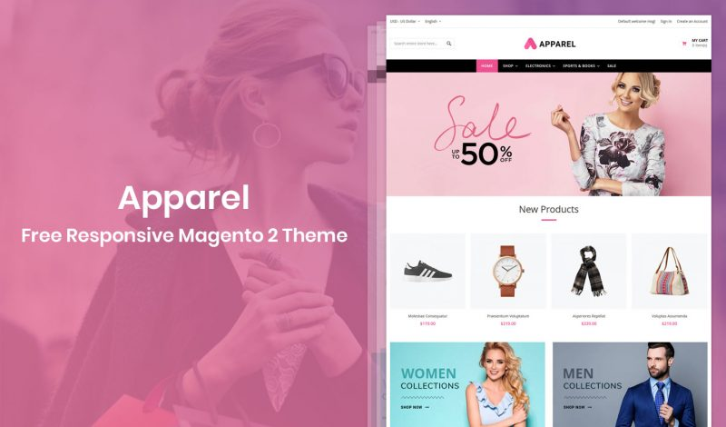 Apparel Magento 2 Theme