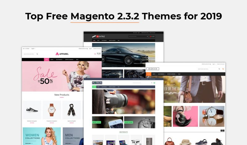 Top Free Magento 2.3.2 Themes 2019