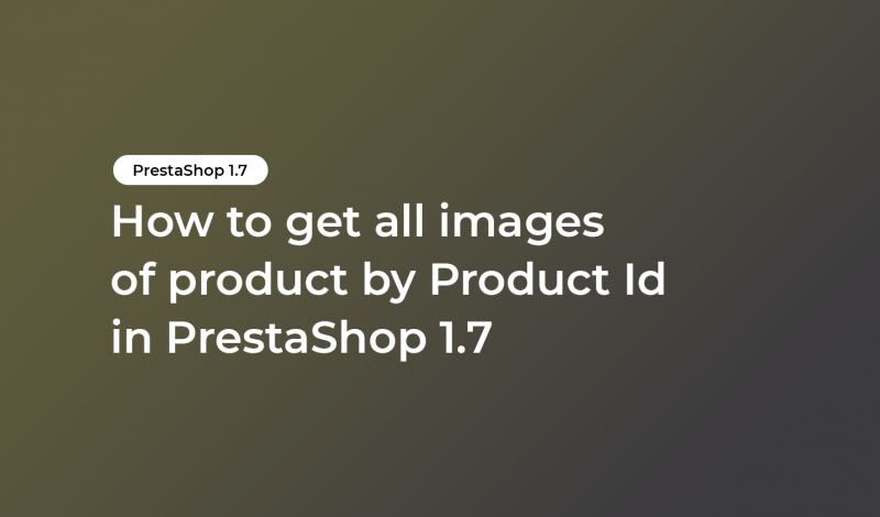 get all images of product by Product Id
