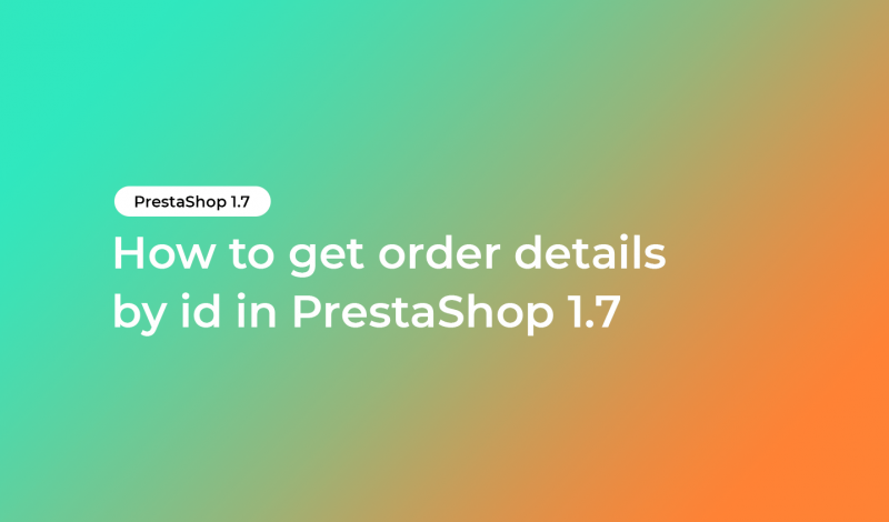 get order details by id