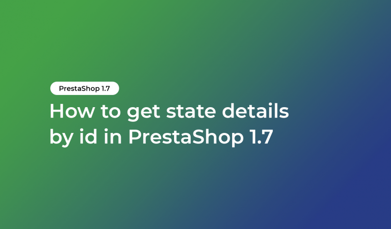 get state details by id