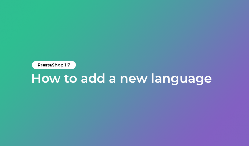 add a new language