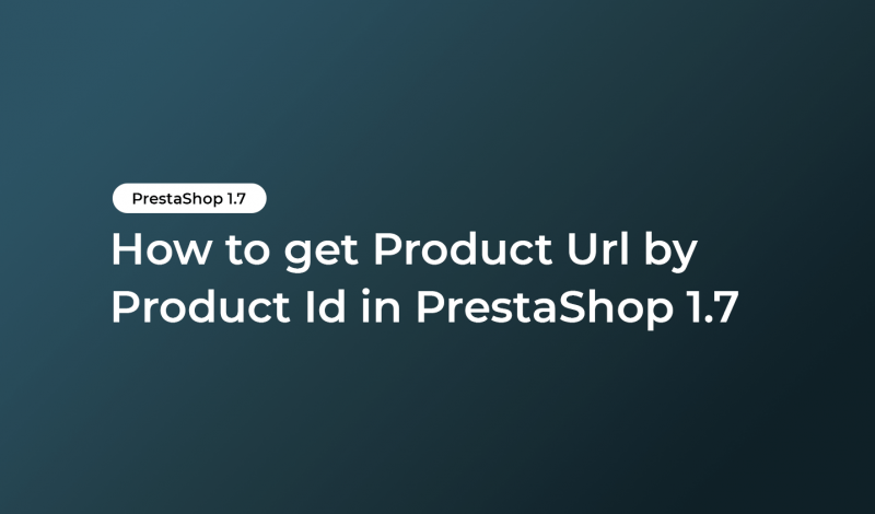 get Product Url by Product Id