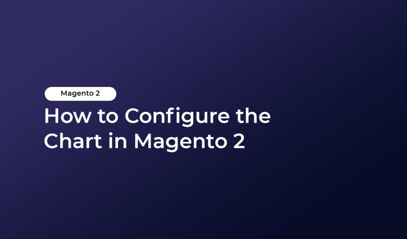 How to Configure the Chart in Magento 2
