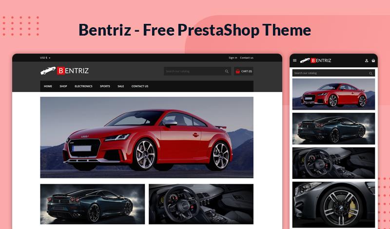 Bentriz – Auto Parts Free & Responsive Theme for Prestashop 1.7