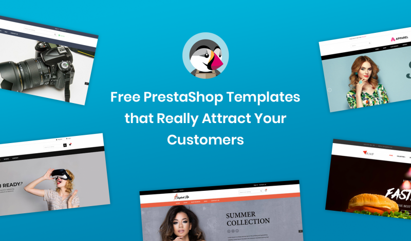 Free PrestaShop Templates that Really Attract Your Customers