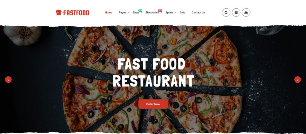 Top Food & Beverages Magento 2 Templates