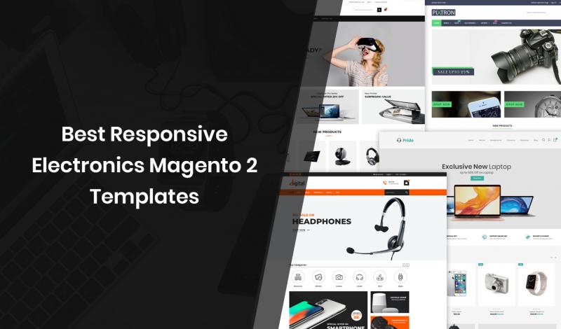 Best Responsive Electronics Magento 2 Templates