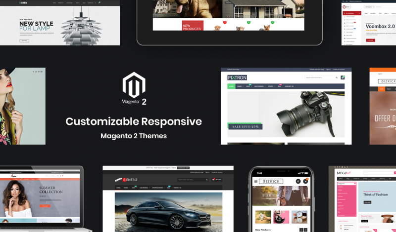 Customizable Responsive Magento 2 Themes