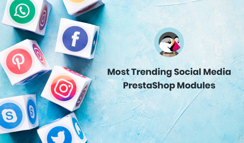 Most Trending Social Media PrestaShop Modules