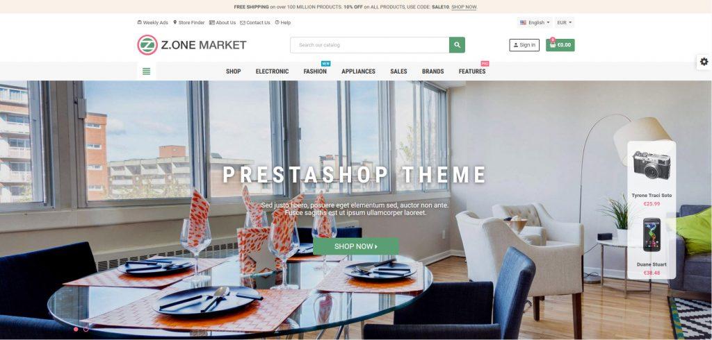 Best PrestaShop Templates for Electronics, Digital and Mobile Stores