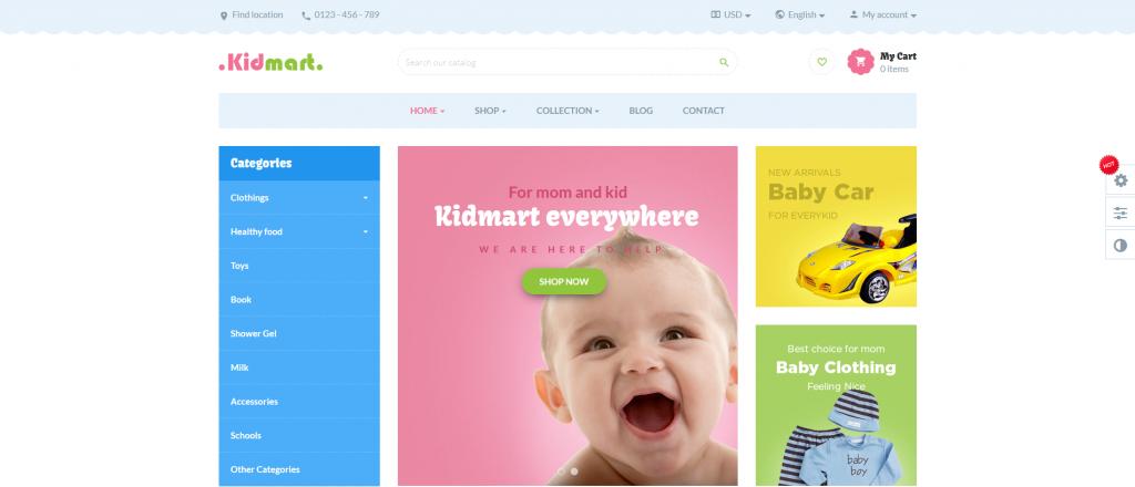 Best Kids & Toys Store PrestaShop Themes