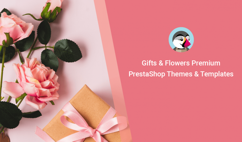 Gifts & Flowers Premium PrestaShop Themes & Templates