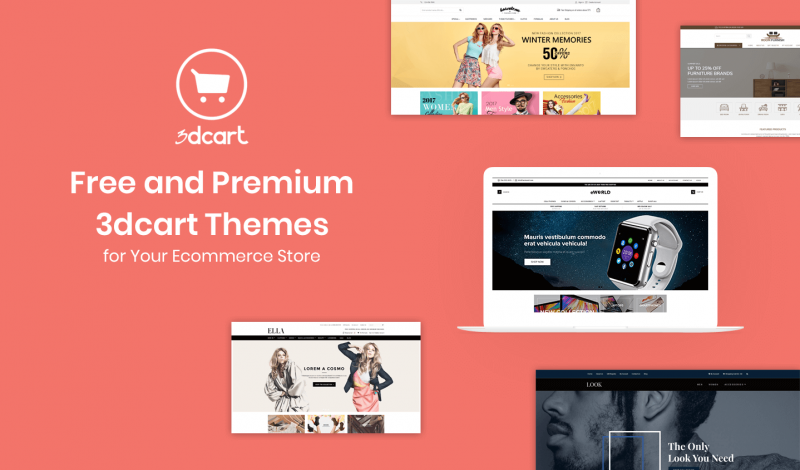 Best Free and Premium 3dcart Themes for Your Ecommerce Store
