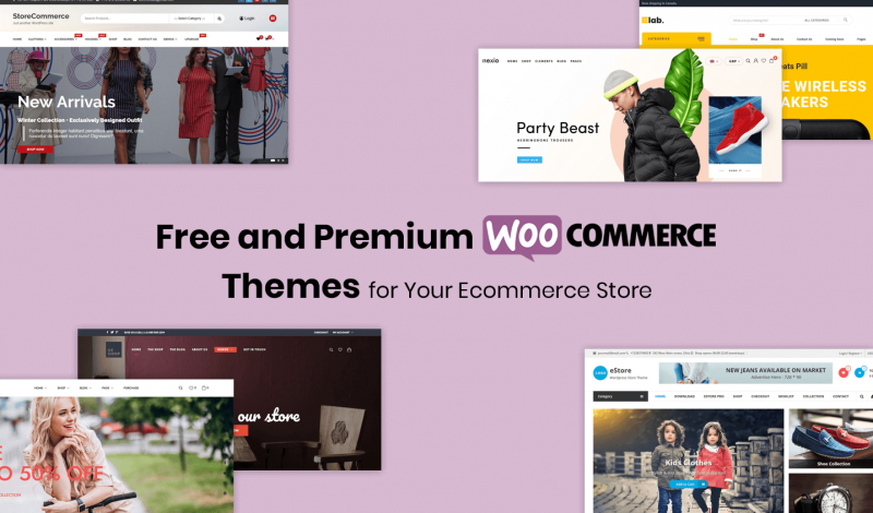 Best Free and Premium WooCommerce Themes for Your Ecommerce Store