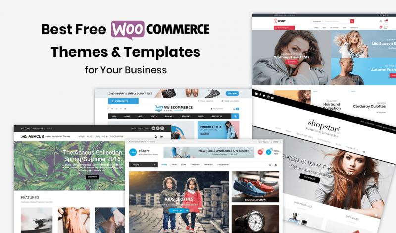 Best Free WooCommerce Themes & Templates for Your Business