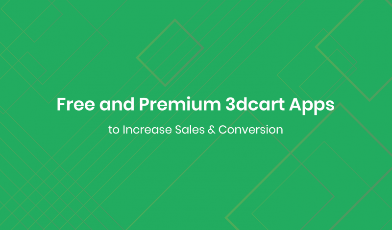 Free and Premium 3dcart Apps to Increase Sales & Conversion