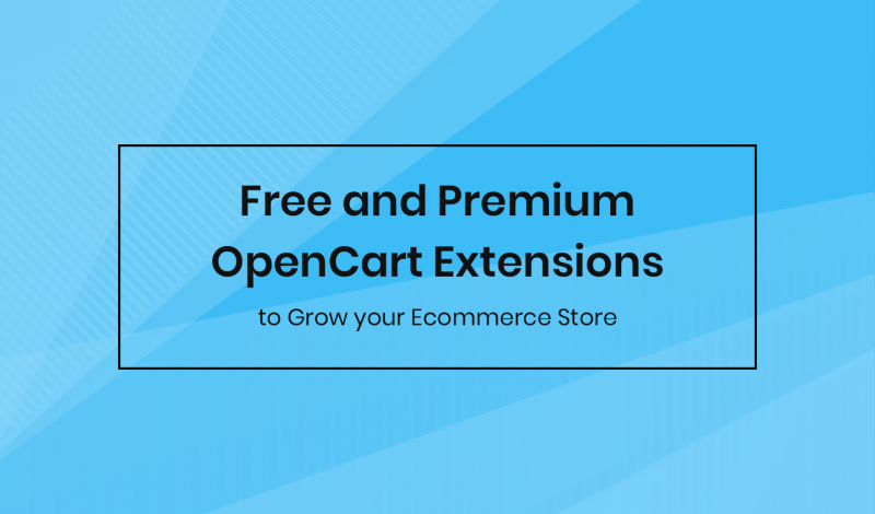 Free and Premium OpenCart Extensions to Grow your Ecommerce Store