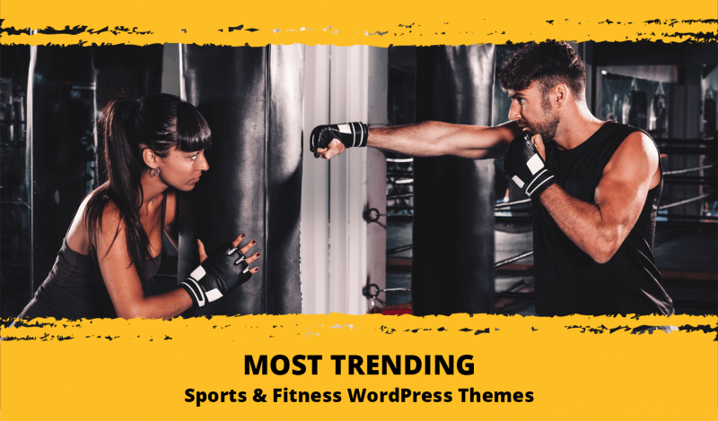 Most Trending Sports and Fitness WordPress Themes