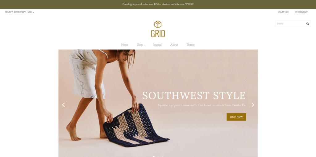 Grid - Home & Garden Shopify Theme