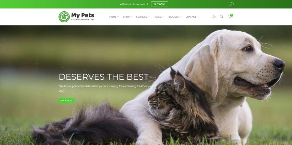 My Pets - Animal & Pets Shopify Theme