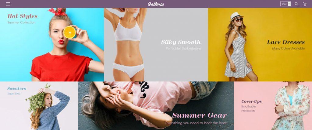 Galleria Premium Shopify Theme