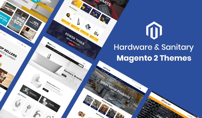 Hardware & Sanitary Magento 2 Themes