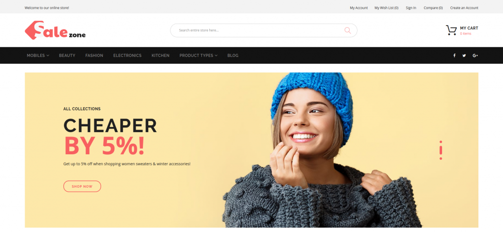 SaleZone - Wholesale eCommerce Magento Theme