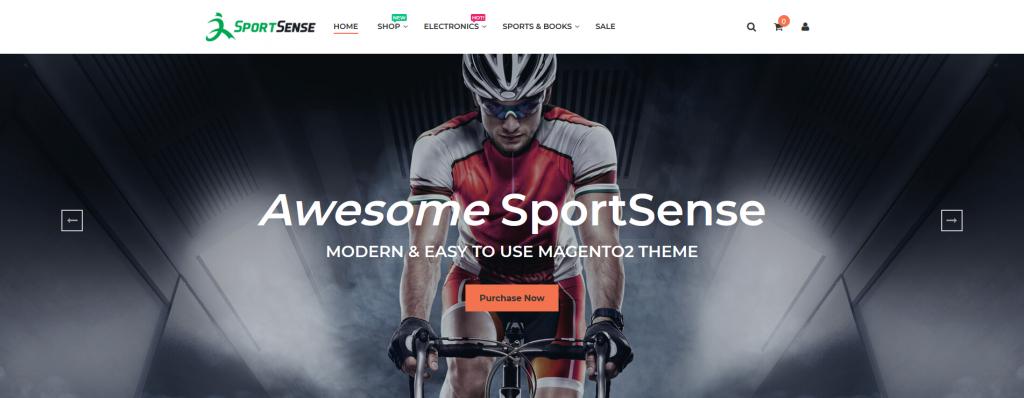 SportSense - Sports & Fitness Magento 2 Theme