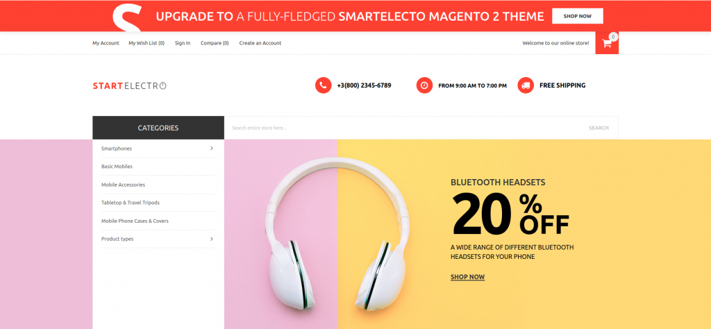 Best Electronics Magento 2 Themes