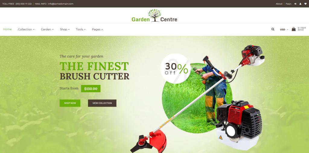 Garden Plants - Home & Garden Shopify Theme