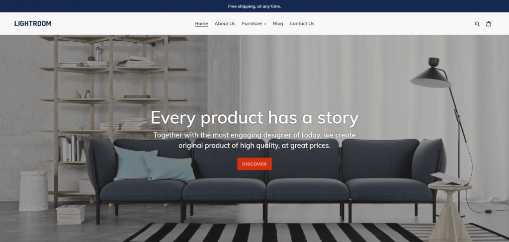 Debut Free Shopify Theme