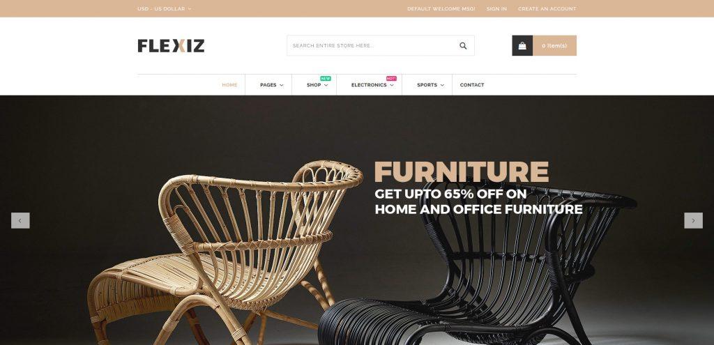 Flexiz - Home Decor Magento 2 Theme