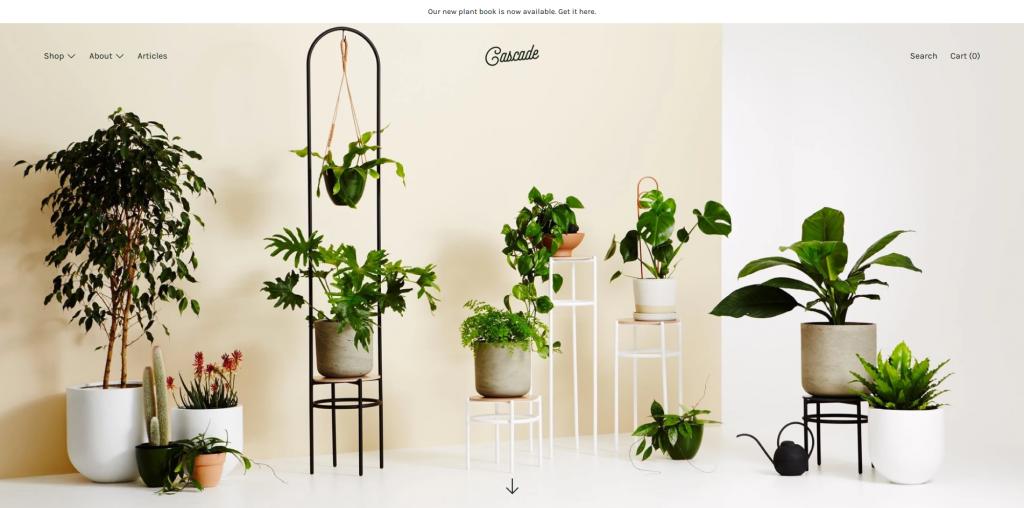 Cascade - Home & Garden Shopify Theme